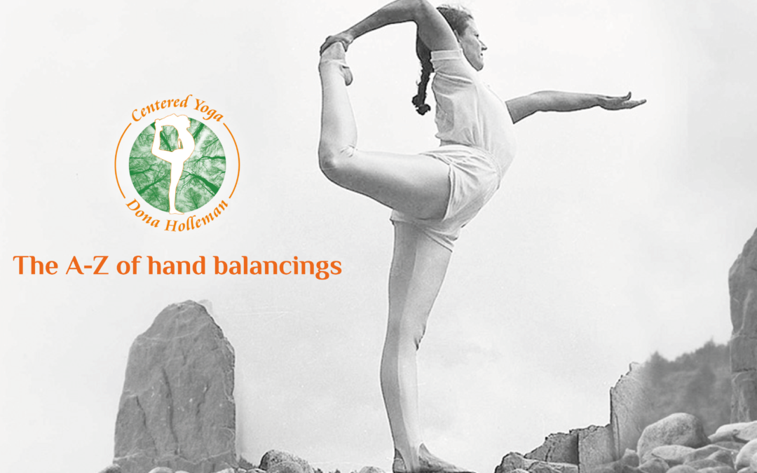 17-22 May 2021 | The A-Z of hand balancings